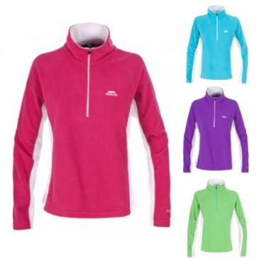 Trespass Apres Ladies 1/2 Zip Outdoor Skiing Micro Fleece